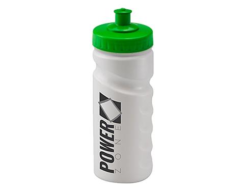 Biodegradable Contour Grip 500ml Sports Bottle - Push Pull Cap