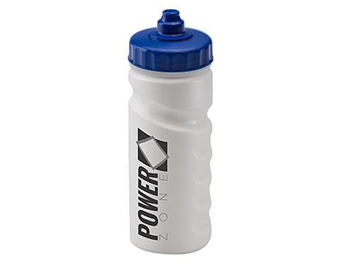 Biodegradable Contour Grip 500ml Sports Bottle - Valve Cap