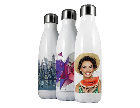 Rembrandt 500ml Thermal Photo Water Bottle