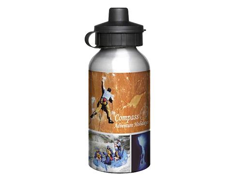 Super 400ml Aluminium Photo Sports Bottle