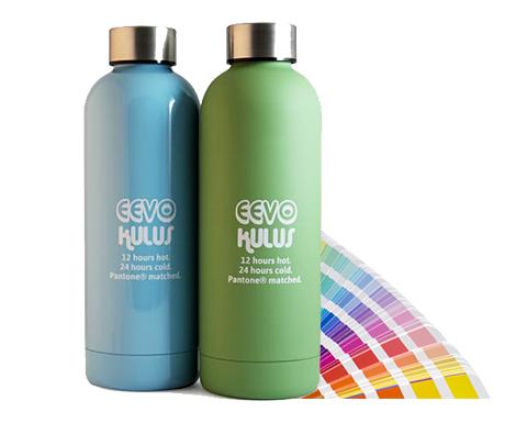 Eevo 500ml Stainless Steel Pantone Matched Water Bottle