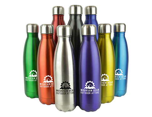 Denver Plus Insulated 500ml Metal Sports Drinks Bottle - Individual Names
