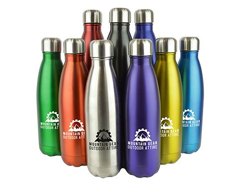 Denver Plus Insulated 500ml Metal Sports Drinks Bottle