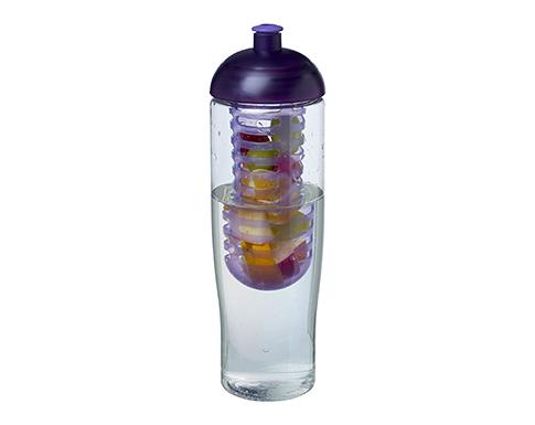 H20 Marathon 700ml Domed Top Fruit Infuser Sports Bottle