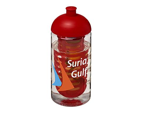 H20 Triathlon 500ml Domed Top Fruit Infuser Sports Bottle