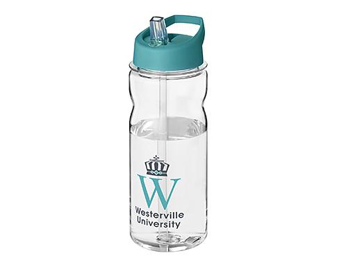 H20 Tritan Impact 650ml Spout Lid Water Bottles