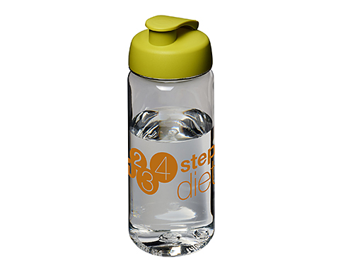 H20 Atlantic Tritan 600ml Flip Top Sports Bottle