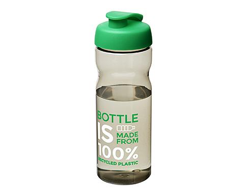H20 Impact 650ml Flip Top Eco Water Bottle