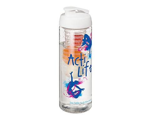 H20 Mist 850ml Flip Top Fruit Infuser Sports Bottle