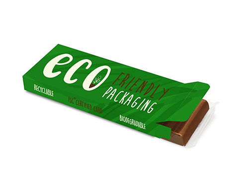 Eco Box - 12 Baton Chocolate Bar