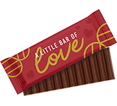 12 Baton Chocolate Bar - Valentines