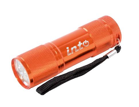 Flame Metal LED Flashlight