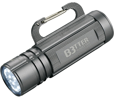 Carabiner Hook Compact LED Flashlights