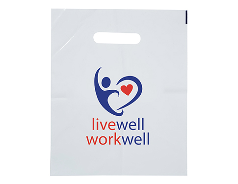Biodegradable Carrier Bag - Small - White