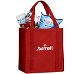 Jersey Non-Woven Bottomo Board Grocery Tote Bag