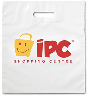 White Plastic Carrier Bags