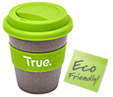 Bamboo Reusable Coffee Cups  by Gopromotional - we get your brand noticed!