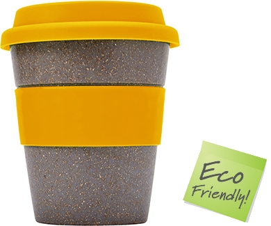 Save On Bamboo Reusable Coffee Cups Printed With Your Logo
