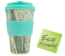 400ml eCoffee Cups - Marmo Verde  by Gopromotional - we get your brand noticed!