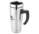 Lincoln Stainless Steel Travel Mugs  by Gopromotional - we get your brand noticed!