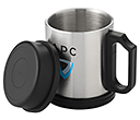 Treker Printed Stainless Steel Travel Mugs  by Gopromotional - we get your brand noticed!