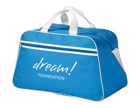 Madison Stripe Gym Duffel Bag
