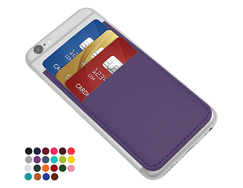 Metropolis PU Smartphone Card Wallet - 3 Slots