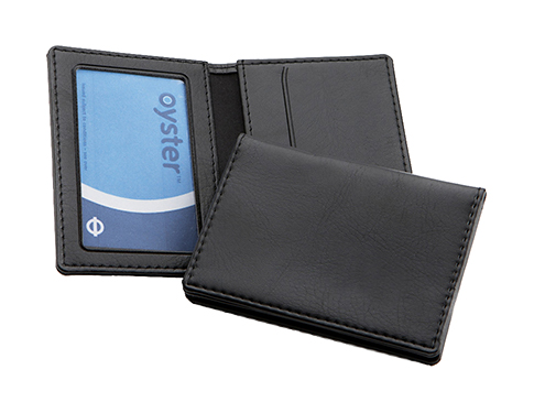 Waterloo PU Oyster Travel Card Holder