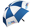 Sheffield Sports Bespoke Vented Golf Umbrellas  by Gopromotional - we get your brand noticed!