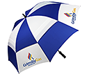 Sheffield Sports Vented Golf Umbrellas  by Gopromotional - we get your brand noticed!