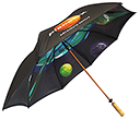 Spectrum Sport Wood Double Canopy Golf Umbrellas  by Gopromotional - we get your brand noticed!