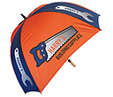 Spectrum Sport Wood Square Golf Umbrellas  by Gopromotional - we get your brand noticed!
