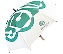 Spectrum Sport Wood Vented Golf Umbrellas  by Gopromotional - we get your brand noticed!