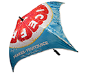 Spectrum Sport Quadbrella Umbrellas  by Gopromotional - we get your brand noticed!