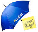 Pro-Am Budget Storm Golf Umbrellas  by Gopromotional - we get your brand noticed!