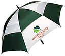 SuperVent Golf Umbrellas  by Gopromotional - we get your brand noticed!
