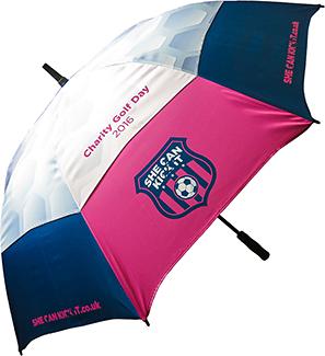 Fibrestorm Auto Vented Golf Umbrella