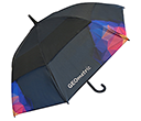 Trekker Executive Auto Vented Walking Umbrellas  by Gopromotional - we get your brand noticed!