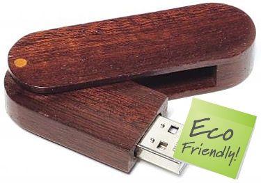 Wood Twister FlashDrives