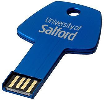 1gb Key Aluminium USB FlashDrive - Engraved