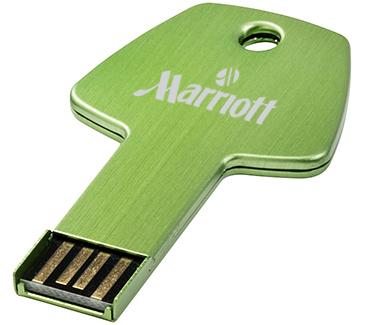 4gb Key Aluminium USB FlashDrive - Engraved