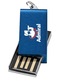 32gb Mini Aluminium Twister USB FlashDrive