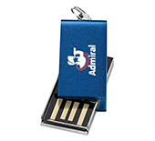 32gb Mini Aluminium Twister USB FlashDrive  by Gopromotional - we get your brand noticed!