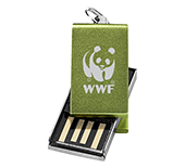 16gb Mini Aluminium Twister USB FlashDrive - Engraved  by Gopromotional - we get your brand noticed!
