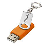 16gb Twister Keyring USB FlashDrive - Engraved