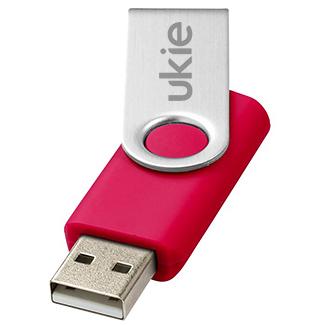 1gb Twister USB FlashDrive - Engraved