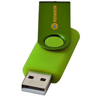 8gb Twister Metallic USB FlashDrive