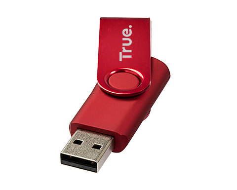 2gb Twister Metallic USB FlashDrive - Engraved