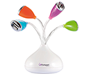 Flower LED USB Hubs  by Gopromotional - we get your brand noticed!